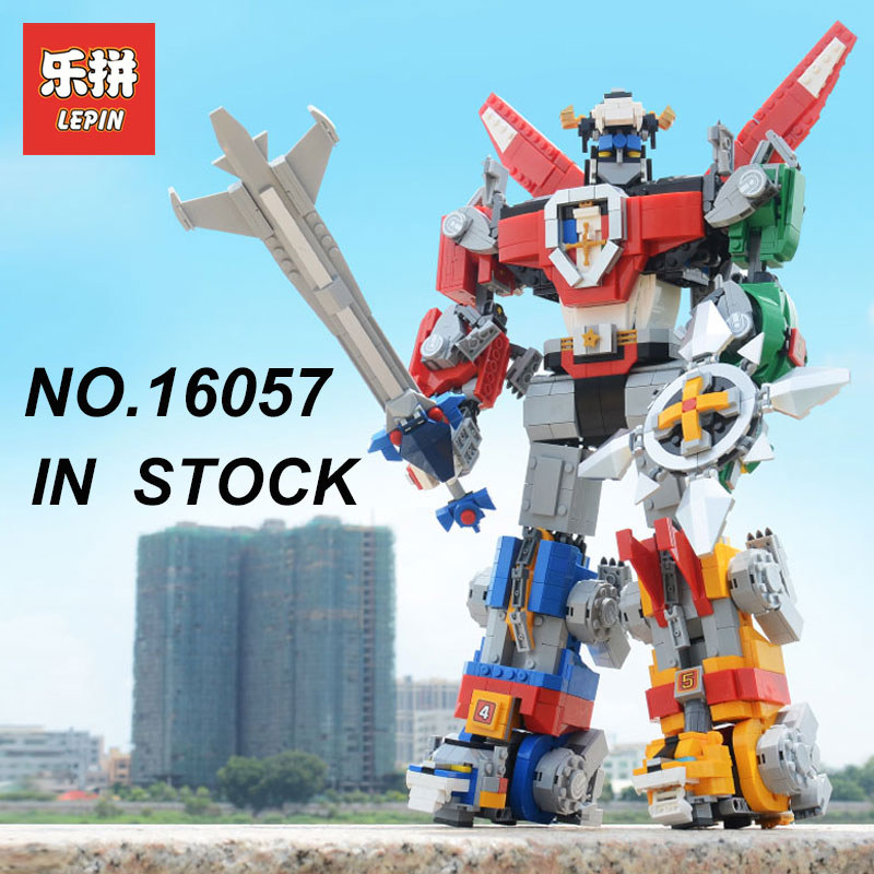 New Lepin 16057 idea series Voltron Defender of the Universe Building Blocks Bricks Legoing 21311 Children Birthday Gifts