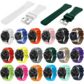 DAHASE 18 Colors Watchband for Samsung Gear S3 Frontier Silicone Band Bracelet for Gear S3 Classic Sports Rubber Wrist Strap