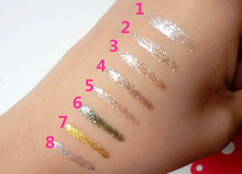 Professional Glitter 7 Color Waterproof Shimmer Pigment