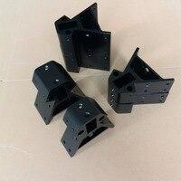 3D Printer Parts Metal Corner Alu Vertex For Kossel XXL Or XXXL For NEMA23 Stepper Motor