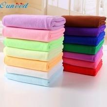 Ouneed Happy home Красочные 70x140 см Абсорбент микрофибра сушки для ванной пляжное полотенце Мочалка для душа