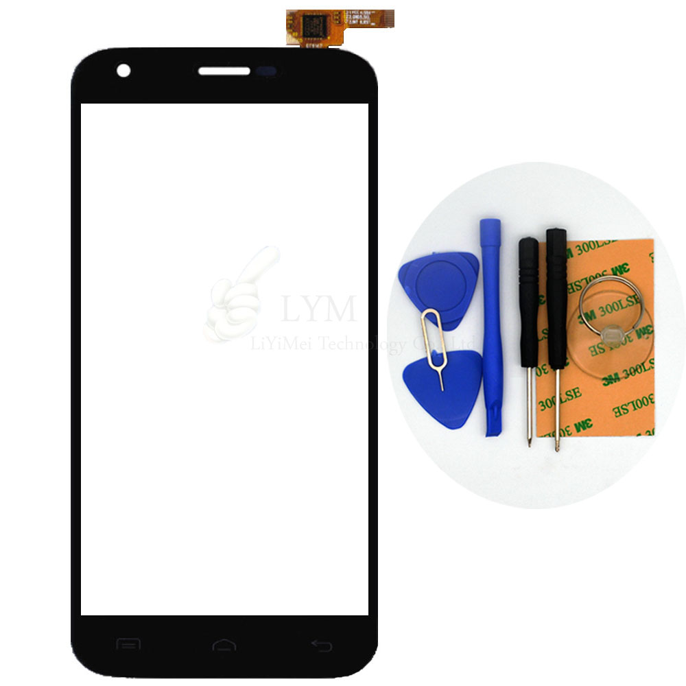 5 0 Black TP for Doogee Valencia2 Y100 Pro Touch Screen Digitizer Glass Panel Sensor No