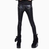 Черный коричневый стимпанк брюки для женщин Готический Высокая талия женские длинные брюки женские большие размеры с двумя карманами XXXL