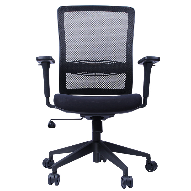 Adjustable Office Chair Simple Style Mesh Cloth Computer Seat Lifted Androtation Reclining Staff Stool Household Gaming Chair