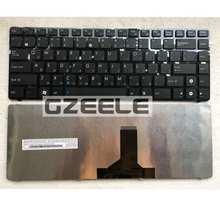 Russian Keyboard for ASUS N82 N82J N82JQ N82JG N82JV K42 A42F X44H X43 A42 A42D A42J K42D K42J A42J K42F U32 U35 U41 RU Black