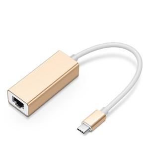 Image 3 - USB3.1 Type C adaptateur Ethernet USB C à RJ45 Lan carte réseau maison filaire convertisseur de câble réseau pour Macbook/ASUS/Samsung/Dell