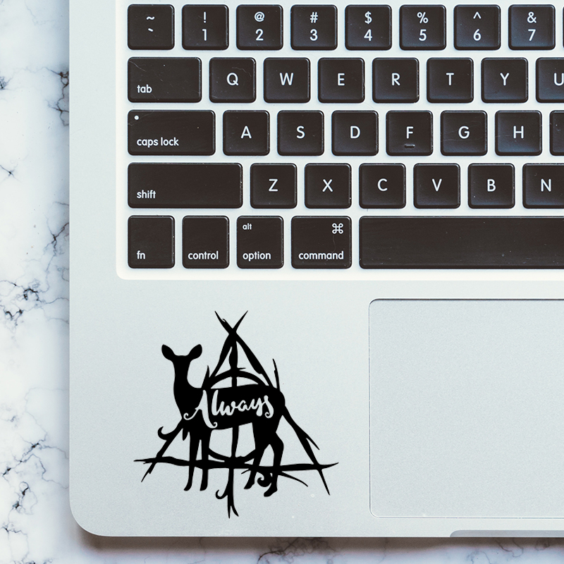 Always Harry Potter Laptop Trackpad Decal for Apple MacBook Pro Air Retina 11 12 13 15 inch Mac Keyboard Touchpad Sticker Skin
