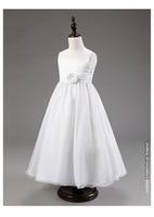 2016 New Designer Sleeveless The dress sequined neck Flower Girl Tutu dress for wedding party communion dresses