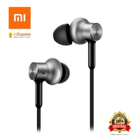 Original Xiaomi Hybrid Pro HD Earphone Circle Iron Wired Xiaomi Earset Noise Cancelling Xiaomi Mi In