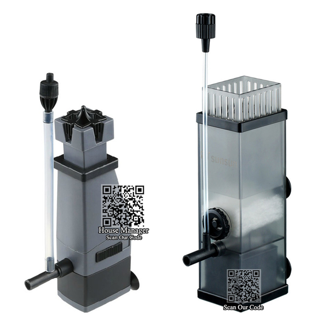 5 W Acuario Bomba de Aceite Skimmer de Superficie para quitar Mancha de Aceite removedor de película, Protein Skimmer bomba de agua para el tanque de pescados del Filtro de agua bomba