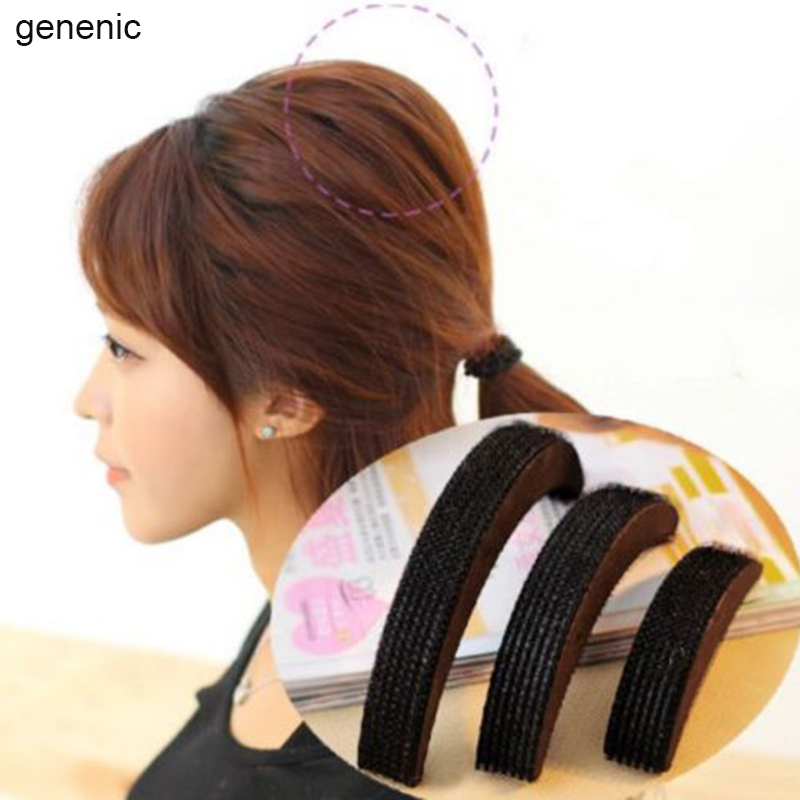 3 PCS Hair Accessories Fashion Hair Styling Women Clip Stick Bun Maker Braid Tool Free Shipping