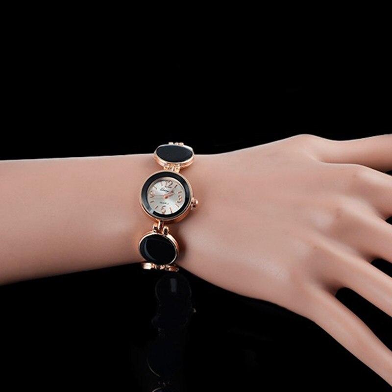 ᑎ‰Лидер продаж роскошные часы-браслет Для женщин часы ...