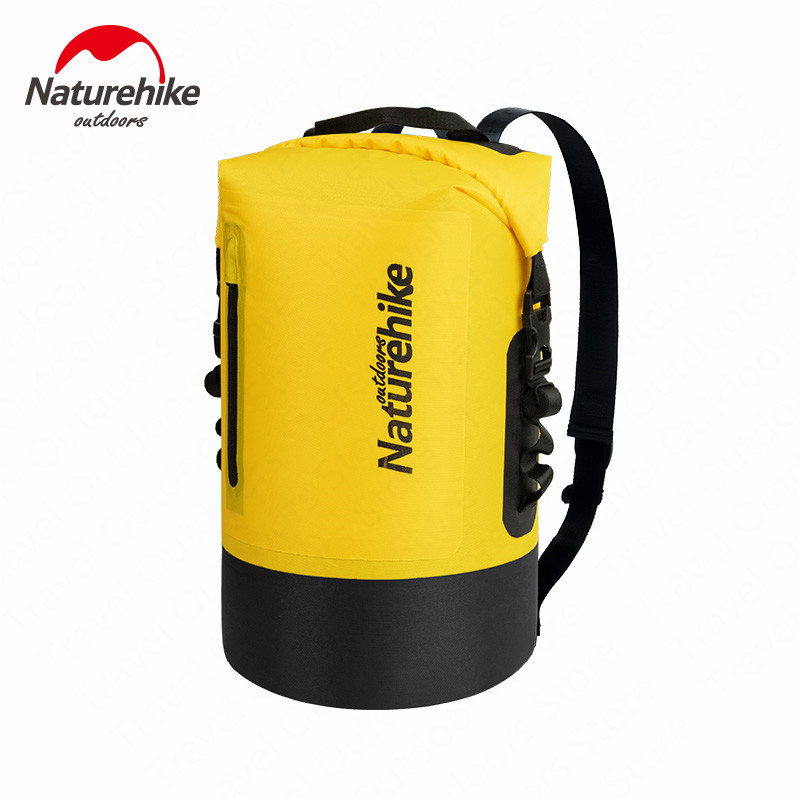Naturehike Waterproof Bag Dry Bag Dry Wet Separation Waterproof Bags Large Capacity Bag Outdoor Portable Drift Waterproof Pack