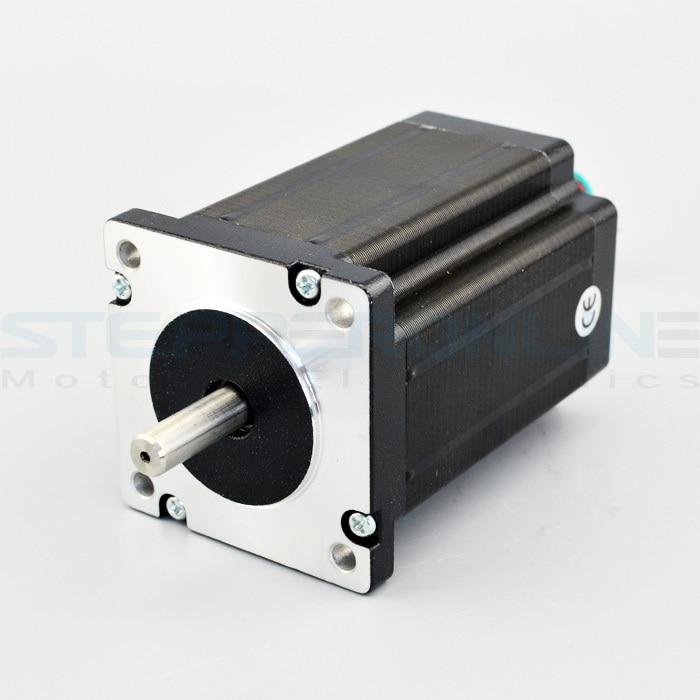 Nema 24 Dual Shaft Stepper Motor CNC 1.8 deg 3.1Nm(439 oz.in) D-cut Shaft 4 leads stepper motor 60x60x88mm for CNC router 42hs03 stepper motor 0 34n m 1a 5 shaft long 24 shaft