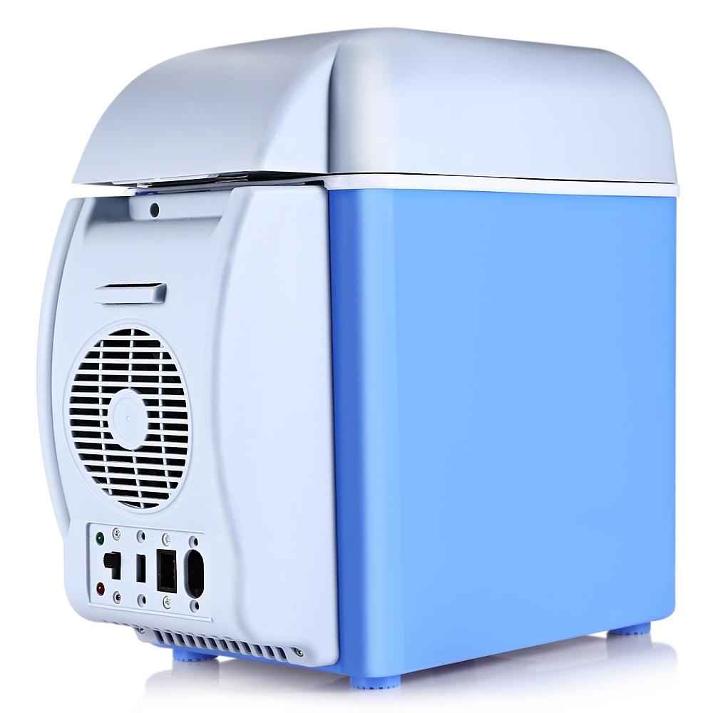 New GBT - 3010 12V 7.5L Capacity Portable Car Refrigerator Cooler Warmer Truck Electric Fridge for Travel RV Boat