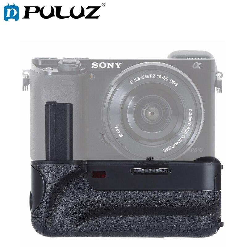 Poignée de batterie de caméra verticale PULUZ pour appareil photo reflex numérique Sony A6000