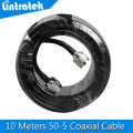 10 Meters N MaleTo N Male Connector Coaxial Cable for Connecting with Mobile Phone Signal Booster Repeater Amplifier