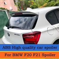 For BMW F20 F21 Spoiler For 2012 2016 BMW 116 118 120 125 135 F20 Spoiler high quality ABS Material Car Color Rear Spoiler