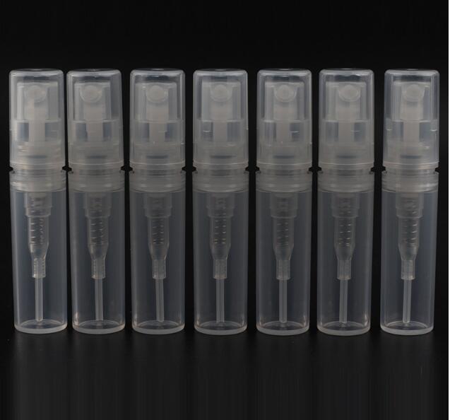 S002-2ml Plastic Tube Bayonet Perfume Bottle Empty Nozzle Spray Bottle 105PCSLOT