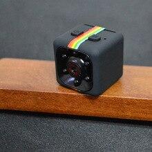 2017 NOVA SQ11 Mini cor HD de visão noturna infravermelha câmera suporte cartão de memória TF 1080 P câmera DV movimento aéreo