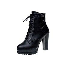 Vento britânico Martin botas botas 2018 outono novas botas curtas das mulheres sapatos stiletto apontou sapatos de salto alto das mulheres de inverno