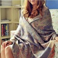 National trend fluid scarves four seasons women's cape ultra long thickening  shawl free shipping