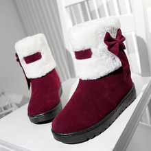 Only real love 2016 New Shoes Women Boots Designer Ladies Winter outside hold Warm Fur Boots Waterproof Women's Snow Boots