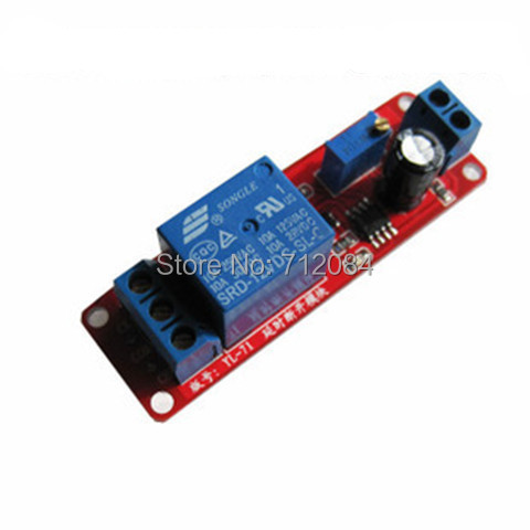 Delay Timer Relay Disconnect Relay Module Time Delay Switch DC 12V For Robot & Intelligent Car DIY Electronic adjustable timer module time delay on off control switch board timer switch controller relay 10s to 24h 2 54mm
