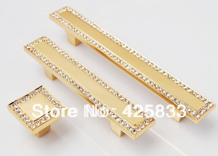 Aliexpress.com : Buy 64mm 24K Gold Drawer Pulls Antique Brass ...