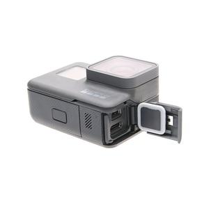 Image 2 - ORBMART צד כיסוי דלת מקרה החלפת USB C מיקרו HDMI יציאת מגן שחילוף Gopro גיבור 5 6 7 שחור מקורי מצלמה