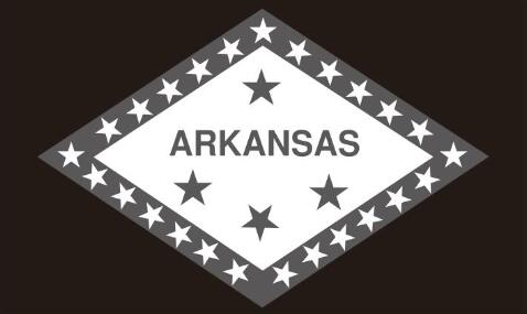 3x5 ft Flag (90x150 cm) custom <font><b>Arkansas</b></font> state flag 100D polyester flag banner image