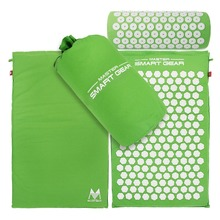 Lotus Spikes Acupressure Mat and font b Pillow b font Set Massage Mat For Natural Relief