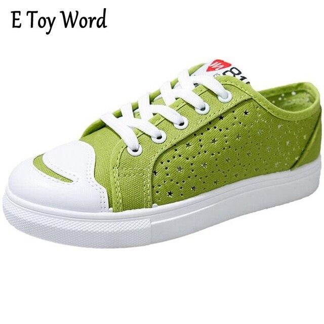 les coréens les chaussures en toile green Bb6txwV
