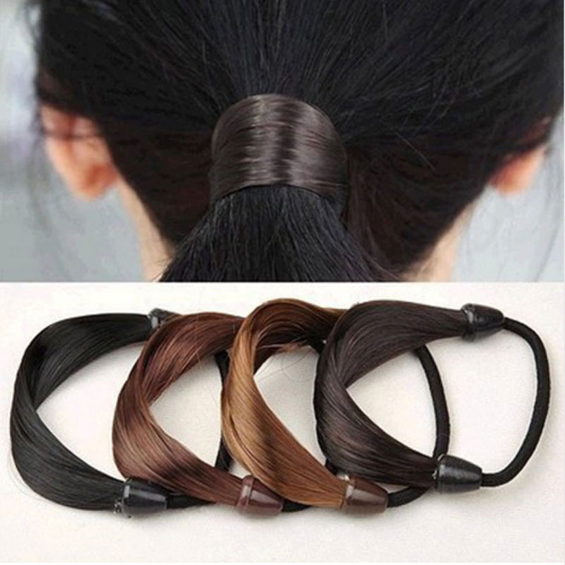 M MISM 2017 Circle Wig Modeling Elastic Hair Bands Scrunchy Hair Accessories For Women Prefect Rubber Bands Headwear For Girls circle manual twist rubber headband rope ring elastic hair bands hair accessories for women scrunchy girls hair braider tools