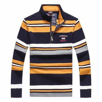 Nueva marca de lujo Tace y tiburón hombres suéter tirar homme hiver media  cremallera suéter de los hombres de estilo europeo suéter de los hombres 3D  ... e920c1031598e