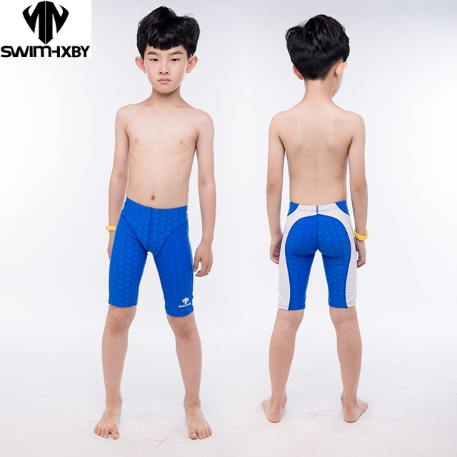 b49e6076e3b HXBY Professional Kids Swimwear Boys Swimsuit Mens Swim Trunk Boy Swimming  Trunks For Children Swimsuit Men Swimwear Swim Shorts