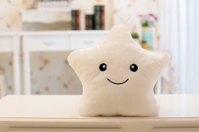 1pcs 40cm Luminous Music Lucky Star Plush Toy Animal Plush Toy Doll Toys Lucky Star Child Gift !