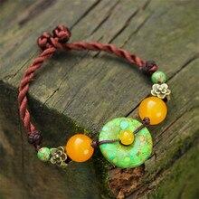 Mulheres pulseiras 2016 new DIY verde hot vender características pulseiras moda acessórios jóias menina presente pulseira amp bangles BS27