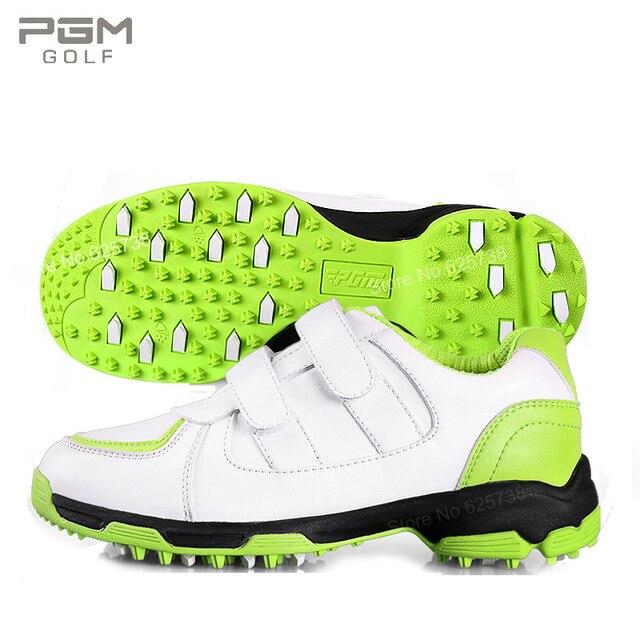 buy popular 89c1d 8af7b Pgm golf scarpe bambino scarpe per bambini femminili 3d traspirante  atletica antiscivolo impermeabile ragazze sneakers ragazzo scarpe da  ginnastica