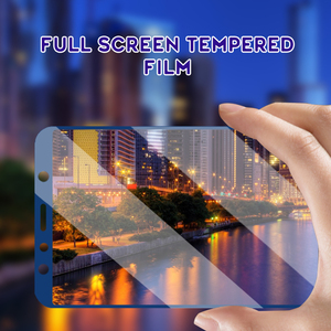 Image 5 - Screen Protective Glass For Samsung Galaxy A8 PLUS A7 2018 A6 Full Cover Tempered Glass Film on the For Samsung Galaxy A7 A8 A6
