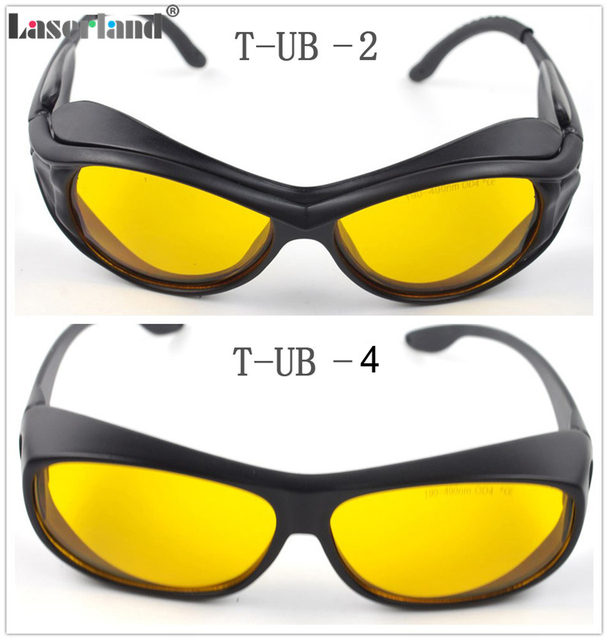 5503fd5524 SK-UB Ultraviolet 190nm-490nm 405nm 445nm 450nm 473nm O.D4+ UV Blue Laser  Protective Goggles Safety Glasses CE