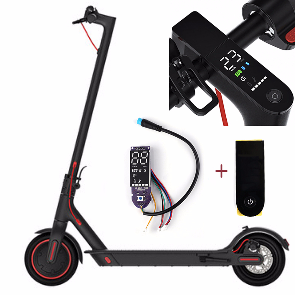 Worldwide delivery xiaomi m365 pro scooter circuit board with screen