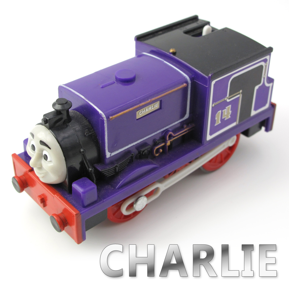Electric Thomas Train T025E CHARLIE Thomas And Friends Trackmaster Magnetic Tomas Truck Locomotive Engine Railway Toys for Boys