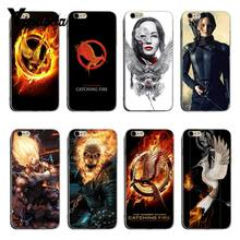 Yinuoda The Hunger Games movie Logo High Quality Classic Phone Accessories Case For iPhone XSMax X XS XR 7 7Plus 8 8plus 6 6plus(China)