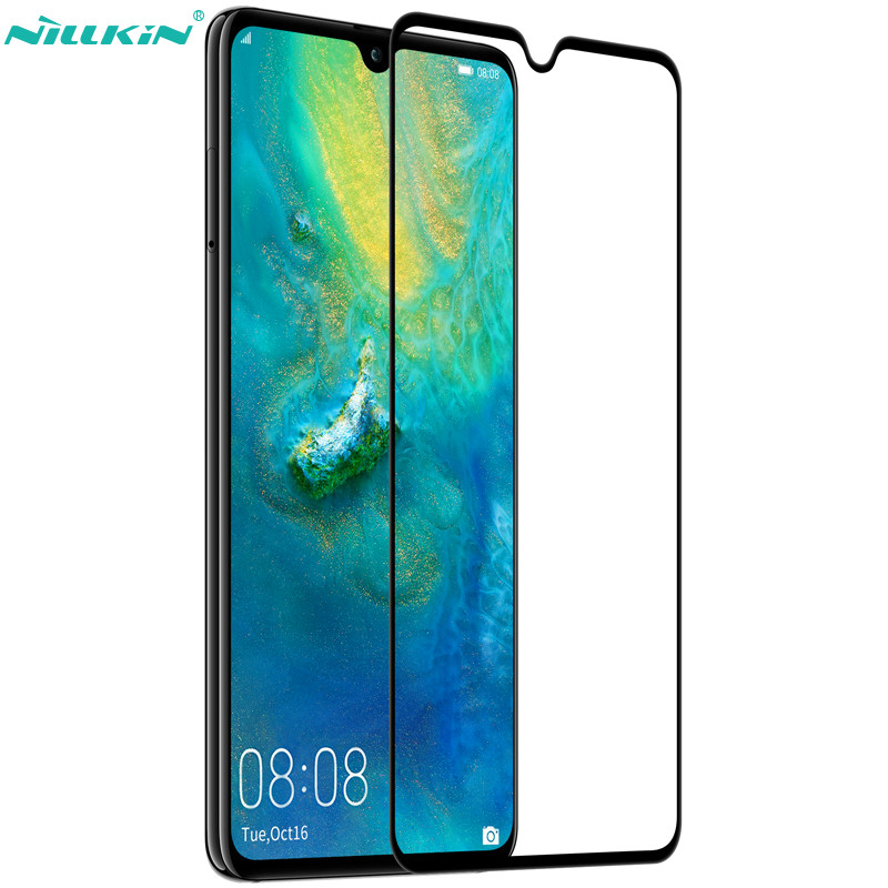 Huawei Mate 20 Tempered Glass NILLKIN XD CP+MAX Full Coverage Round edge Tempered Glass Screen Protectors For Huawei Mate 20|Phone Screen Protectors| |  - title=