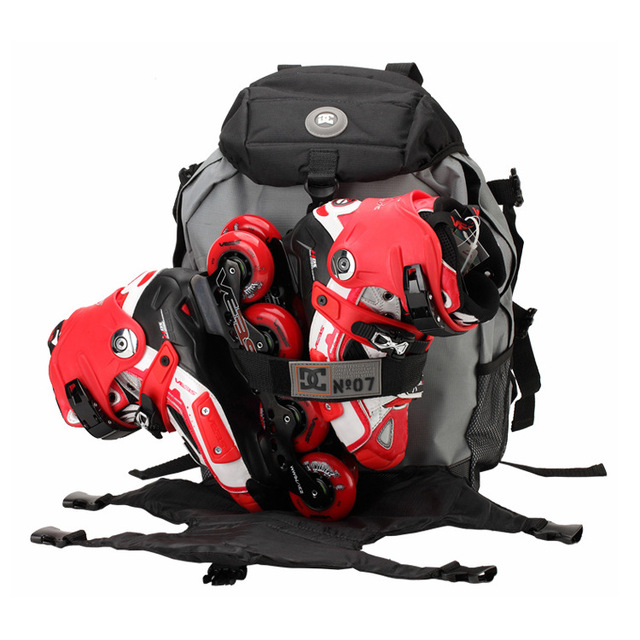 New Dc Skates Backpack For Inline Bag Size Capacity Skating Bags With Colorful Choices