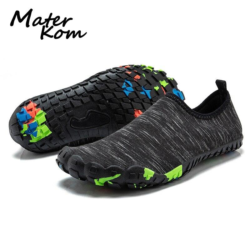 c055d9373f9 2019 zapatillas deportivas al aire libre para hombre/zapatillas de tenis de  playa zapatos de natación para mujer aguas arriba Aqua zapatos de agua  unisex
