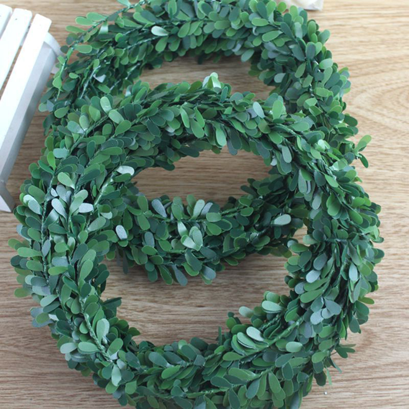 7.5m Artificial Ivy Garland Foliage Green Leaves Simulated Vine For Wedding Party Ceremony DIY Headbands7.5m Artificial Ivy Garland Foliage Green Leaves Simulated Vine For Wedding Party Ceremony DIY Headbands