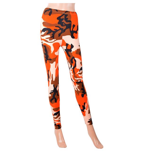 Slimming Camouflage Leggings