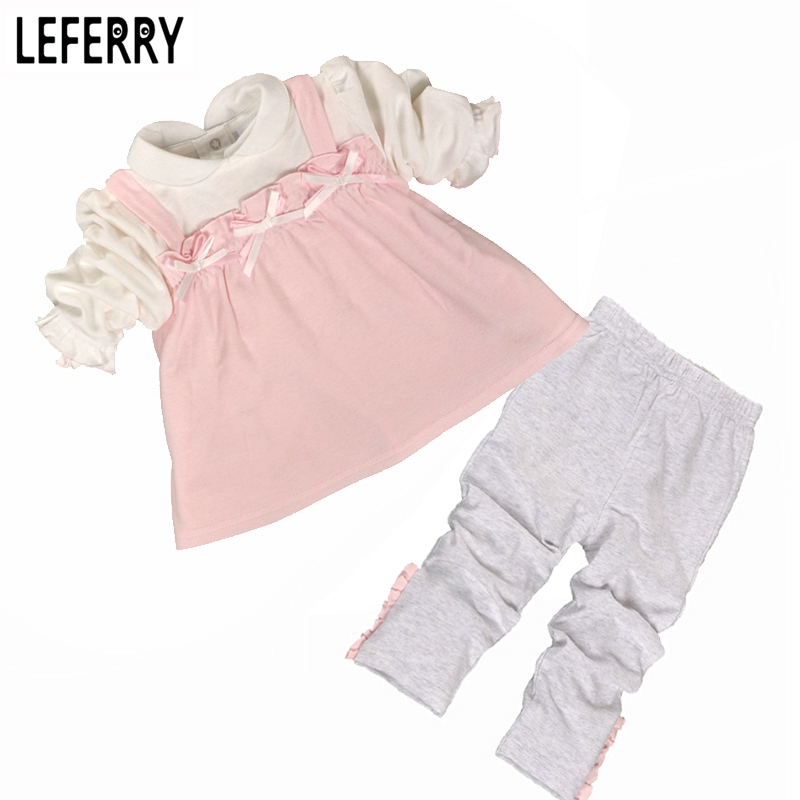 Baby Girls Clothing Sets Newborn Infant Clothing Baby Girl Clothes Sets Baby Kleding Kids Clothes Sets Cotton 2018 New Spring